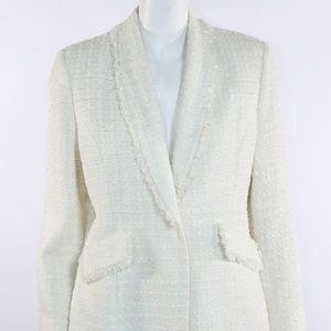 Le Suit Women's Cream Blazer Size 12